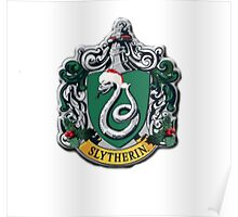 slytherin Christmas card Poster