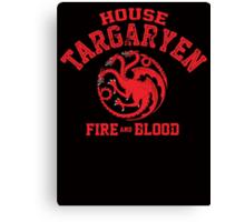 House Targaryen Canvas Print
