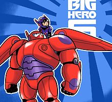 Big Hero 6 Duvet Queen size Cover! by Mélodie Courchesne