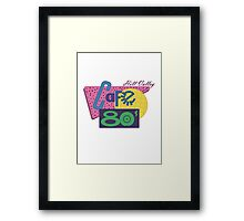 Cafe 80´s Framed Print