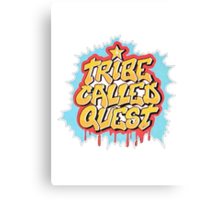 A Tribe Called Quest Logo Canvas Print