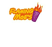 The Flaming Moe´s Photographic Print