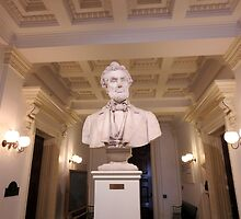 Lincoln in the Vermont State House by grichuate