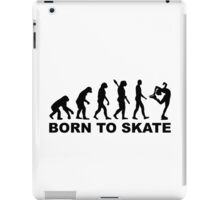 Evolution Figure skating iPad Case/Skin