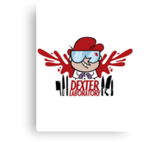 Dexter Laboratory Canvas Print