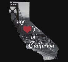My Heart's in CA by 4getsundaydrvs