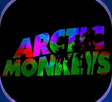 Arctic Monkeys in space by Cmac1510
