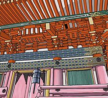 Pagoda by seanvec