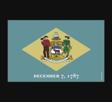 Delaware State Flag Kids Clothes