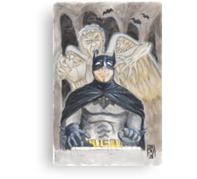 Why Batman really works nights... Canvas Print