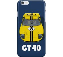 Ford GT40 iPhone Case/Skin