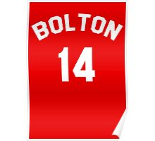High School Musical: Bolton Jersey Poster