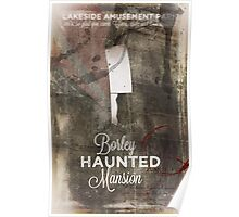 Borley Haunted Mansion [Lakeside Amusement Park]  Poster