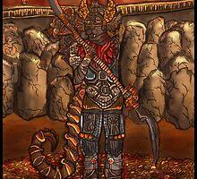 Danseth Warrior by Nivaosi