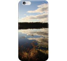 Clouds in a Lake iPhone Case/Skin