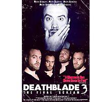Death Blade 3 Photographic Print