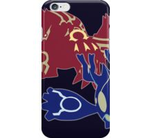 Omega Ruby/Alpha Sapphire iPhone Case/Skin