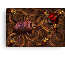 Steampunk - Insect - Itsy bitsy spiders Canvas Print