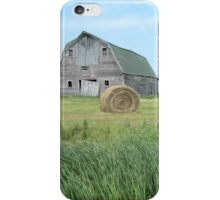 Old Barn on the Prairie iPhone Case/Skin