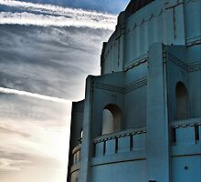 The Griffith Observatory During Sunset by Dmitry Shuster