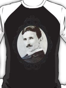 NikolaTesla Framed T-Shirt