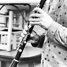 The Clarinet Player by Clare Colins