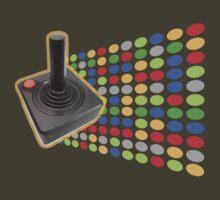 vintage color joystick by Alejandro Durán Fuentes