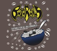Batarangs Cereal Box Art Kids Clothes