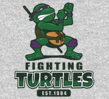 Fighting Turtles - Donatello T-Shirt