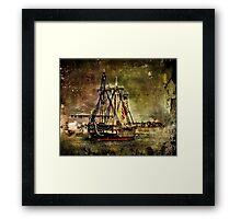 USS Constitution  Framed Print