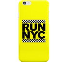 RUN NYC TAXI iPhone Case/Skin