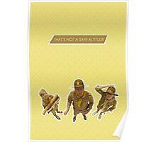 Moonrise Kingdom - Scout Master Ward Poster