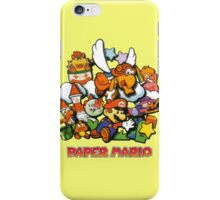 Paper Mario iPhone Case/Skin