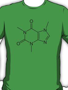 Caffeine molecule shirt T-Shirt