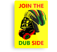 Dub Vader (red-green) Metal Print