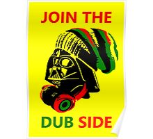 Dub Vader (red-green) Poster