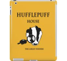 Hufflepuff House - The Great Finders iPad Case/Skin
