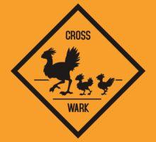 Crosswark - Chocobo Crossing - Light Shirts by Julia Lichty