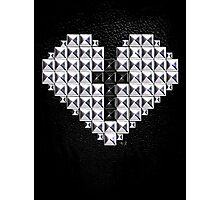 studded heart and cross Photographic Print