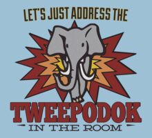 Big Bang Theory Inspired - Amy Farrah Fowler's Language - Tweepodok - Elephant - Elephant in the Room - TBBT T-Shirt