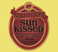 True Blood Inspired - Eric Northman Sunblock & Self-Tanner - Vampire Sunblock Parody - Tru Blood Kids Clothes