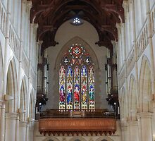 Stained Glass Windows at Sacred Heart Cathedral by Steven Jodoin