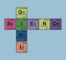 SCIENCE GIRL! - Periodic Elements Scramble Kids Clothes