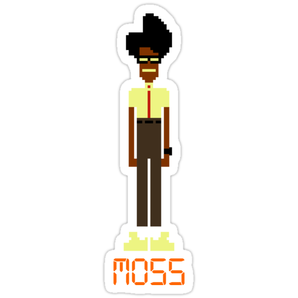 8-bit Moss - The IT Crowd by ottou812
