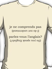 Point & Go Language Traveller Tee - French T-Shirt