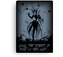 Elise, the Spider Queen Canvas Print