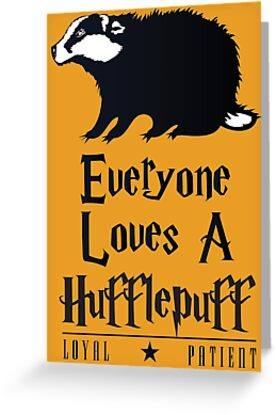 Everyone Loves a Hufflepuff by machmigo