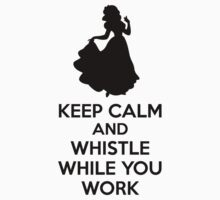 Keep Calm And Whistle While You Work Kids Clothes