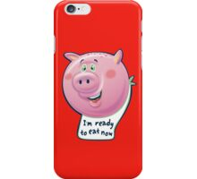 Ready to Eat Now - kids size iPhone Case/Skin