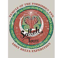 Sallah's Temple Tours Photographic Print